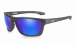 WileyX zonnebril - KINGPIN, pol. blue-green lens/ mat black