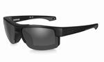 WileyX zonnebril - COMPASS, smoke grey / mat zwart frame