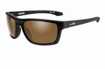 WileyX zonnebril - KINGPIN, bruine glazen / mat zwart frame